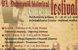 VI. povijesni festival u Dubrovniku