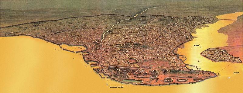 Pad Konstantinopolisa, rođenje Istanbula