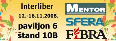 SFera, Mentor i Fibra na Interliberu 2008