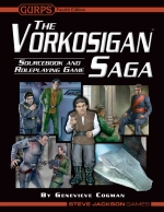 Recenzija: Vorkosigan Saga Sourcebook and Roleplaying Game
