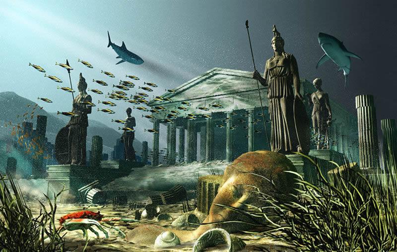 Pomoću Google Oceana pronađena Atlantida