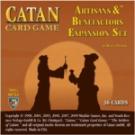 Catan Card Game: Artisans and Benefactors