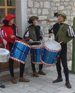 Program srednjovjekovnog sajma u Šibeniku