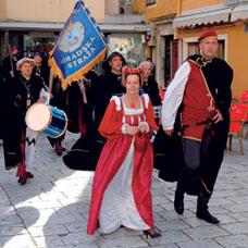 I. dan srednjovjekovnog sajma u Šibeniku