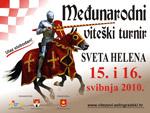 Program viteškog turnira Sv. Helena 2010.