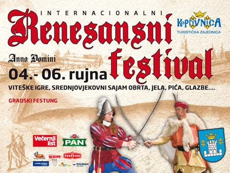Najava: Renesansni festival u Koprivnici
