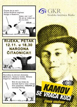 """Novi roman Zorana Krušvara: """"Kamov se vraća kući"""""""