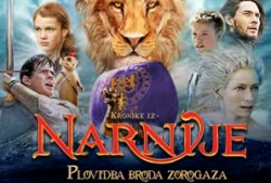 Danas u kinima – Kronike iz Narnije: Plovidba broda Zorogaza 3D