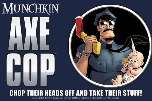 Najavljen Munchkin Axe Cop