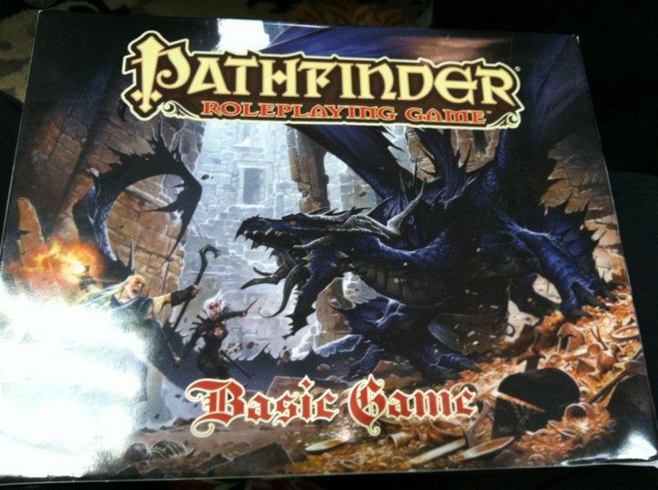 Prvi pogled na Pathfinder starter set