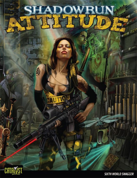 Novo za Shadowrun: Attitude i Fistful of Credsticks