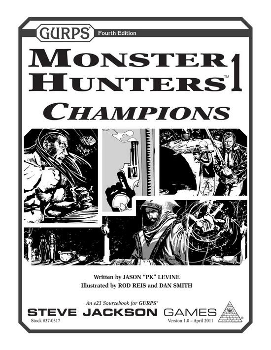GURPS Monster Hunters ugledali svjetlo dana!