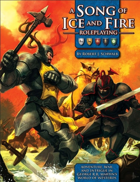 "Željezno prijestolje za Game Mastere – prikaz igre ""A Song of Ice and Fire Roleplaying"""