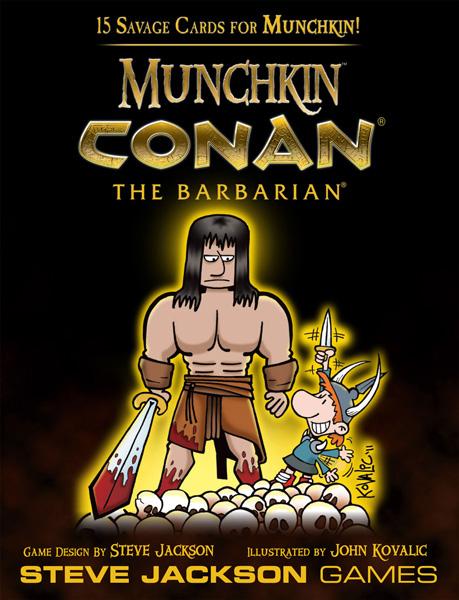 Najavljen Munchkin Conan The Barbarian