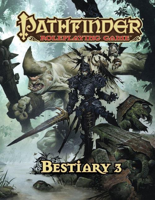 Bestiary 3 i Advanced Race Guide za Pathfinder