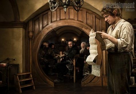 Prve fotografije sa seta Hobbita