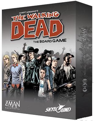 Walking Dead igre na ploči