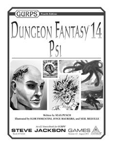 GURPS Dungeon Fantasy 14 u prodaji