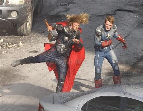 Štitovi, oklopi, čekići i strijele – nabrijavanje za Avengerse 2