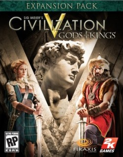 Civilization V: Gods and Kings u prodaji