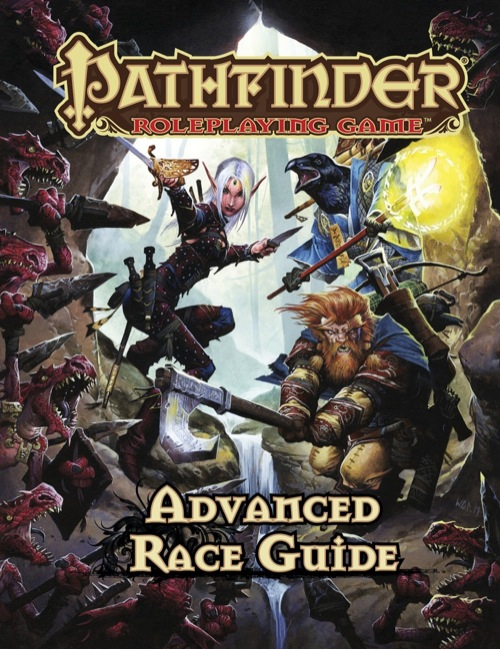 Pathfinder Advanced Race guide u prodaji!