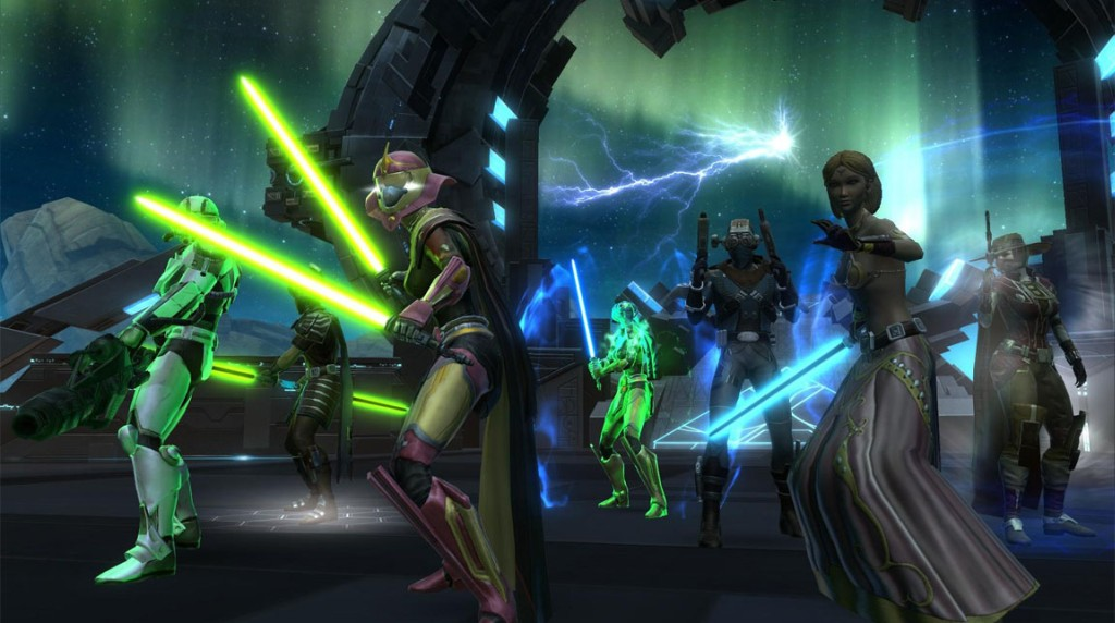 Star Wars: The Old Republic ide Free to Play