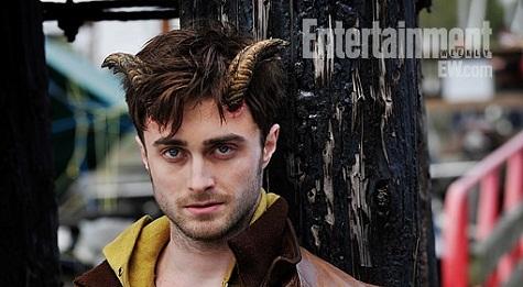 Daniel Radcliffe s rogovima