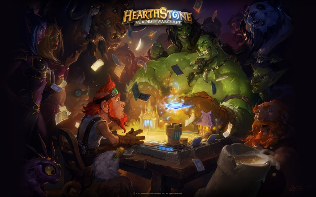 Najavljen Heartstone: Heroes of Warcraft